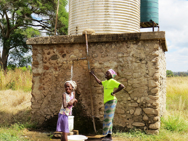 'Just A Drop' founder Fiona Jeffrey presents: Transforming lives with Water security projects