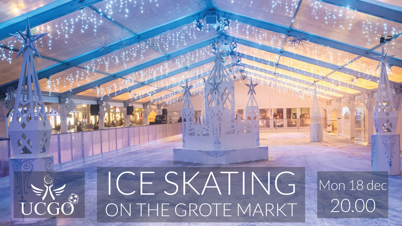 Ice Skating on the Grote Markt