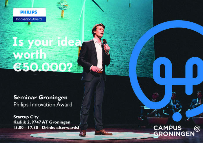 Philips Innovation Award Seminar | Campus Groningen