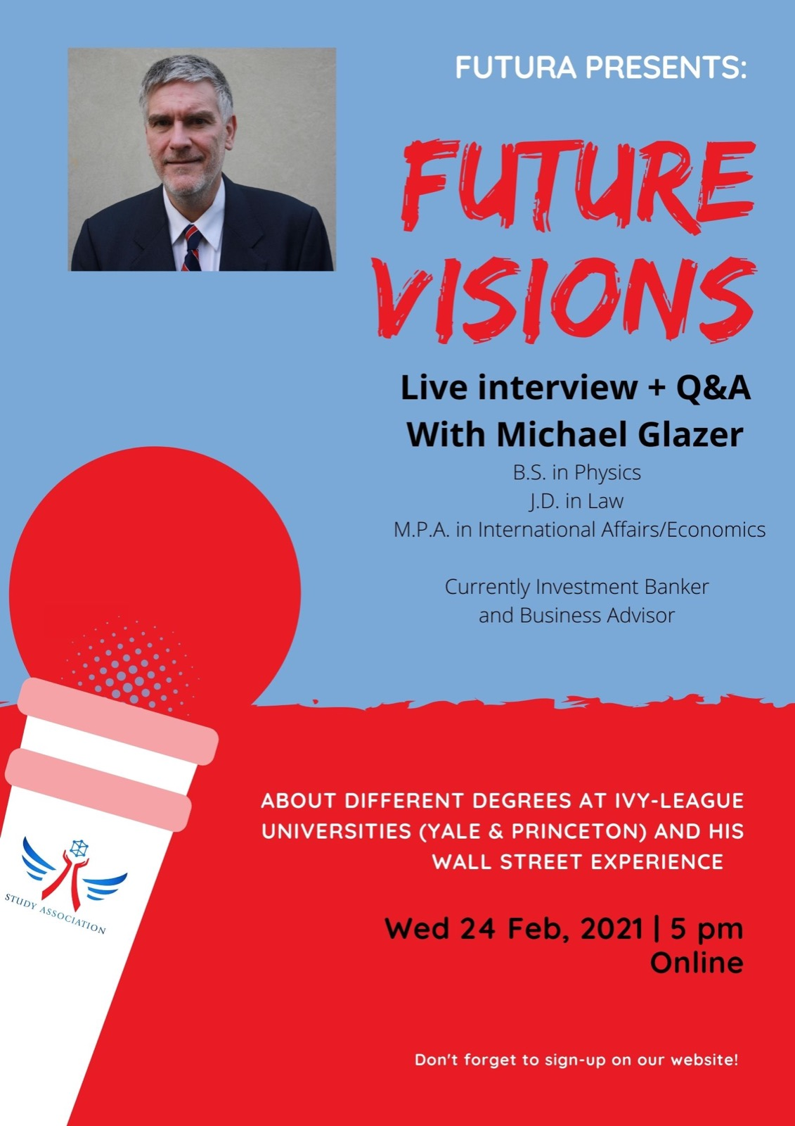 Future Visions with Michael Glazer