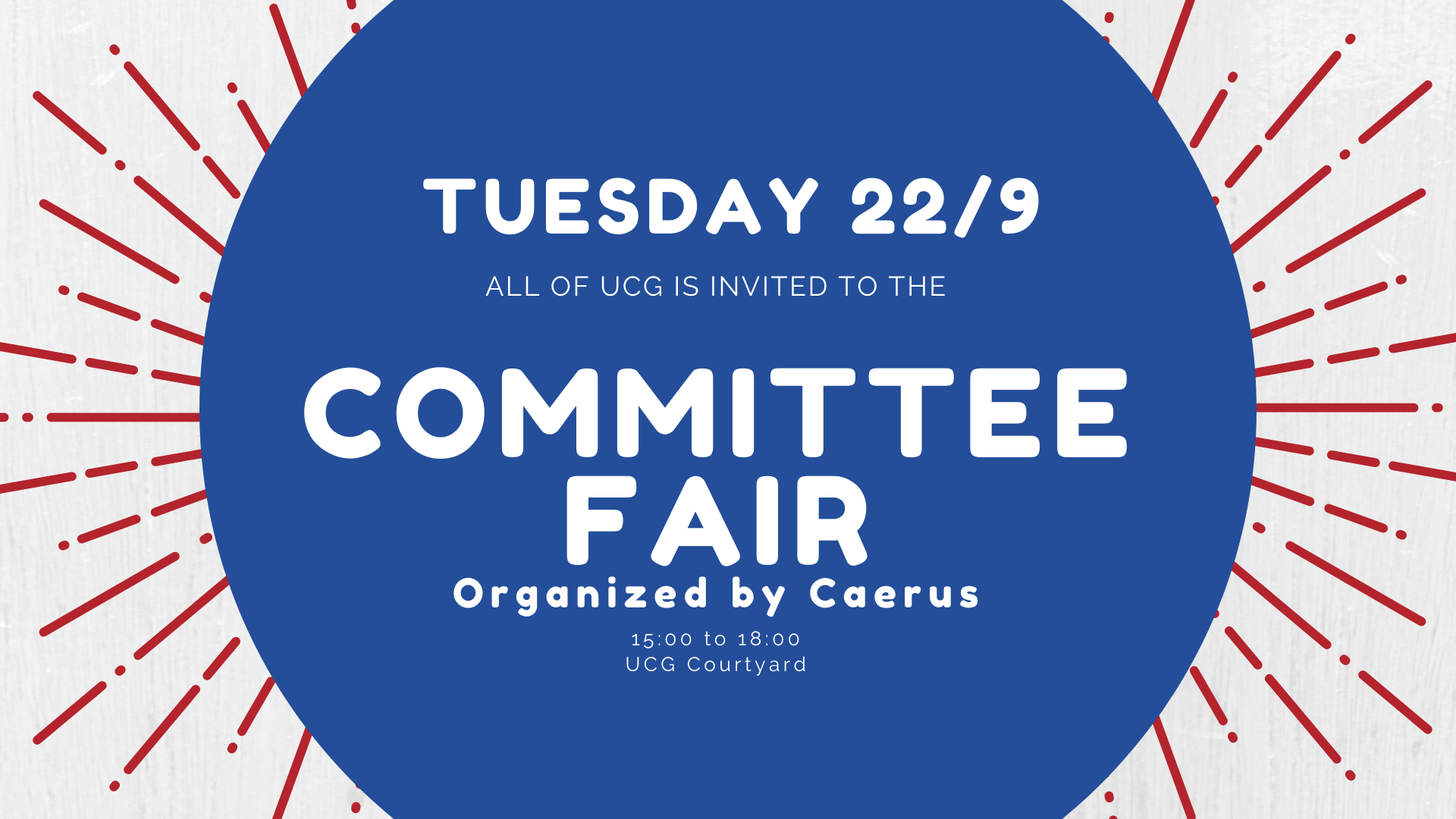 Committee Fair