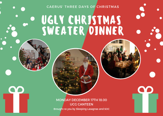 Ugly Christmas Sweater Dinner III
