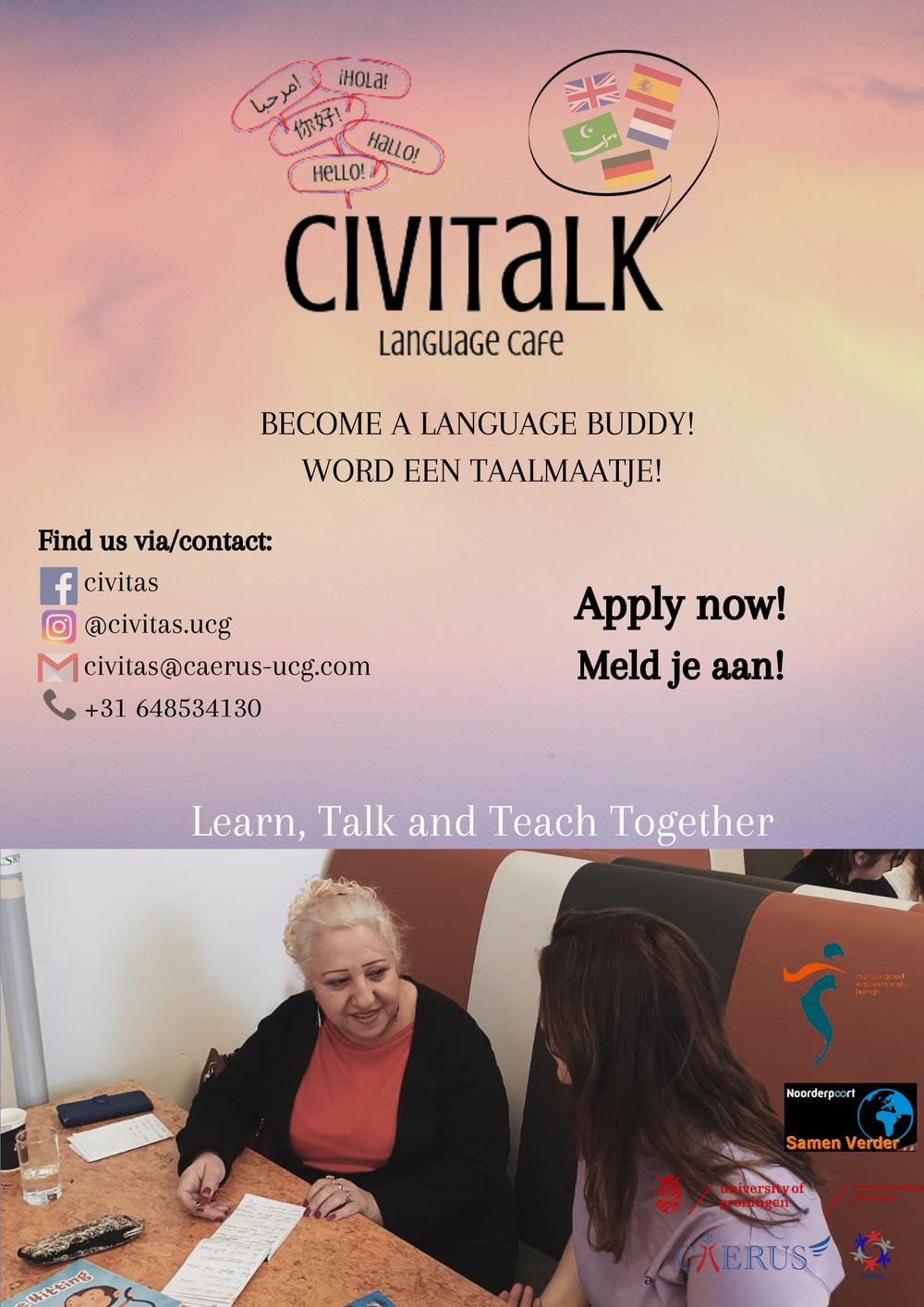 (Virtual) Language Buddies