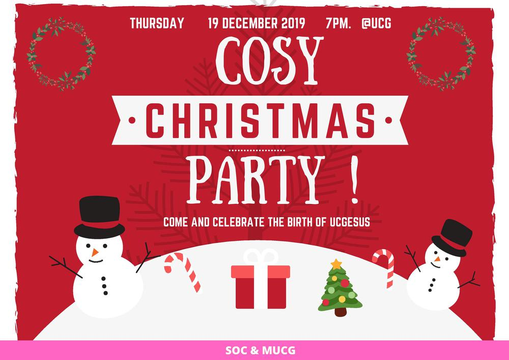 Cozy Christmas Party
