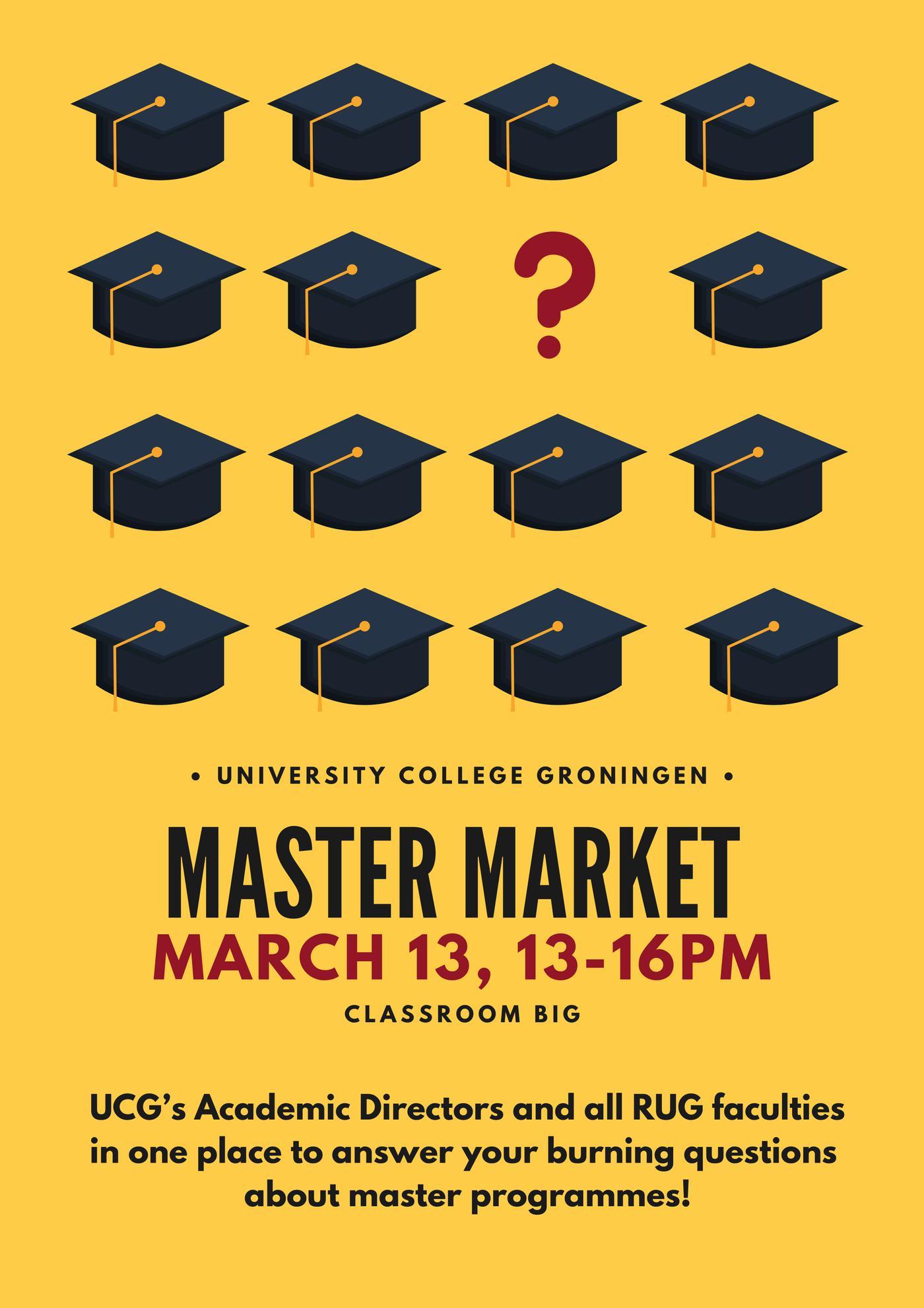 UCG's Master Market