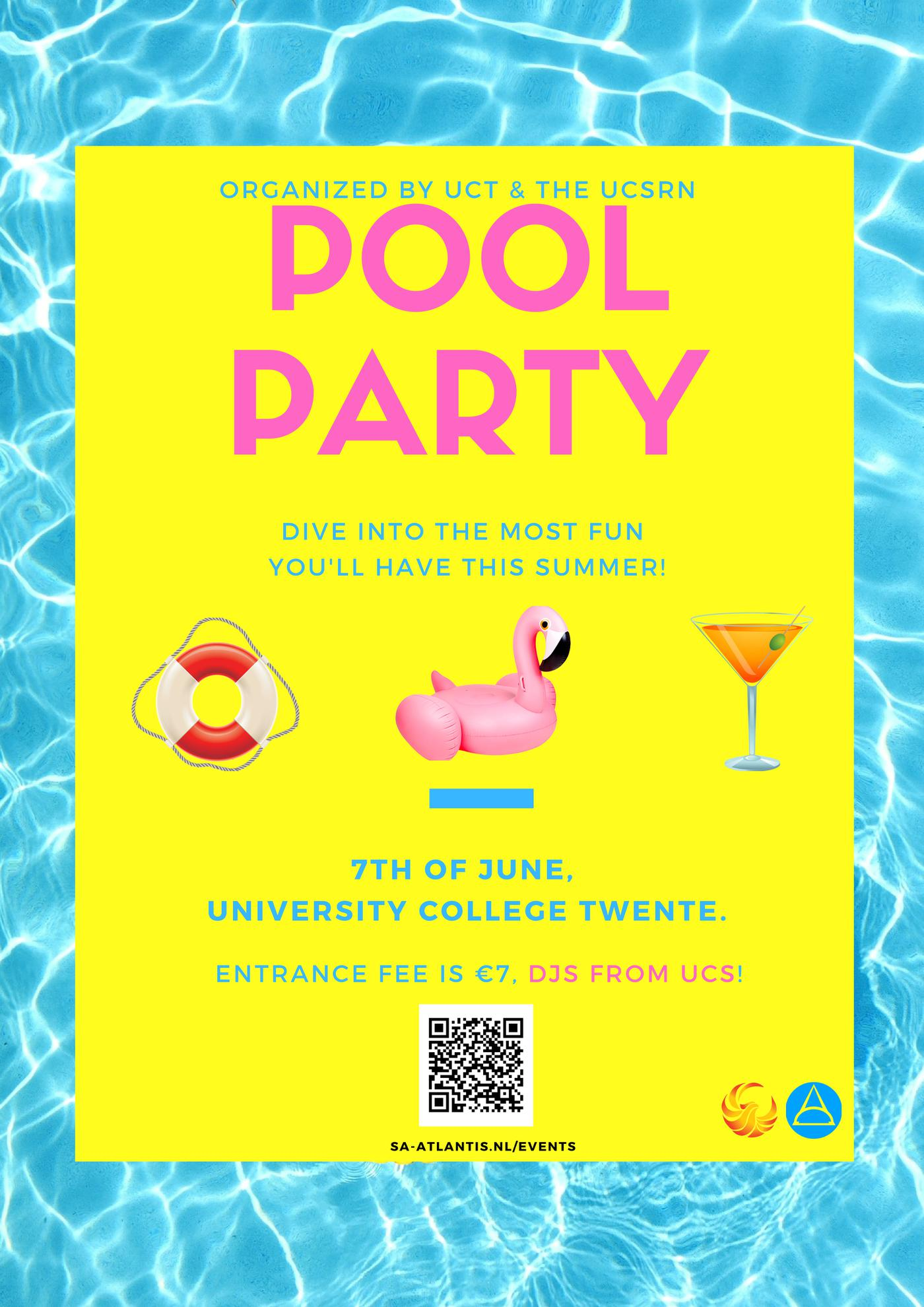 UCSRN Pool Party @ UCT