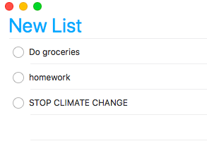 To-Do list: Stop climate change